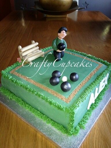 Cake Designs Green : Bowling Green Cake Cake decorating ideas Pinterest