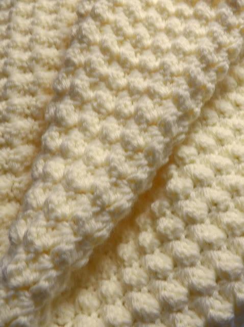 Crochet Pattern For Popcorn Stitch Baby Blanket : Baby Popcorn Blanket Crochet Pinterest