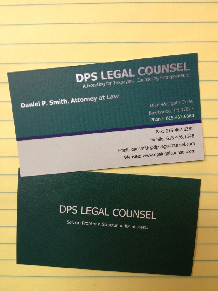 Pin by Carolyn Elefant on The Lawyer Business Card