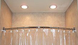 shower recessed lights favorite places spaces pinterest. Black Bedroom Furniture Sets. Home Design Ideas