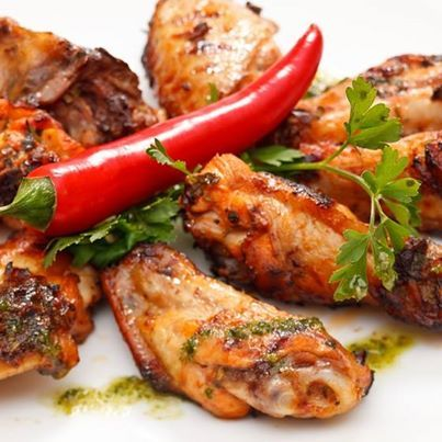 Simple Spicy Grilled Chicken Wings! | All Things Wings and Buffalo Th ...