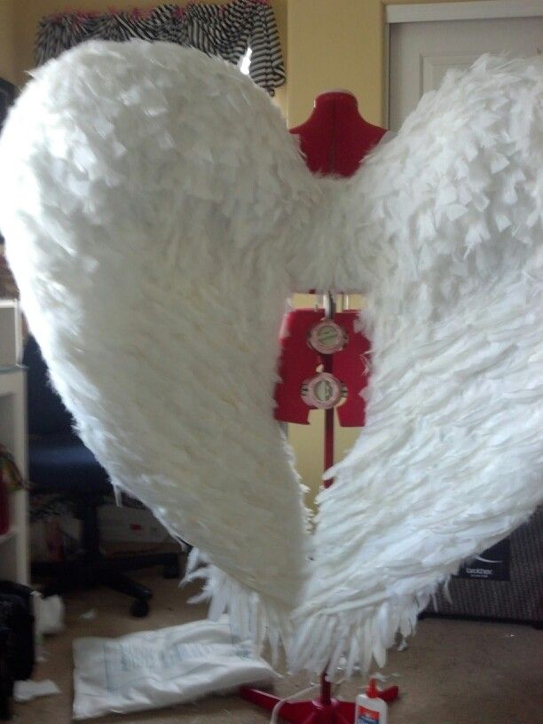 My DIY Angel Wings : My Sewing Portfillio ;) : Pinterest