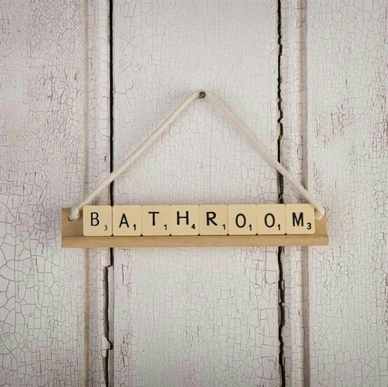 Super Cute Bathroom Sign Home Is Wherever I 39 M With You Pinterest