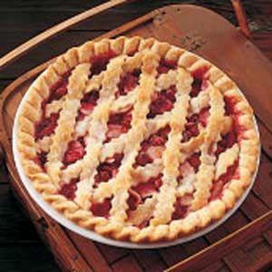 Apple Cranberry Pie Recipe {Taste of Home}