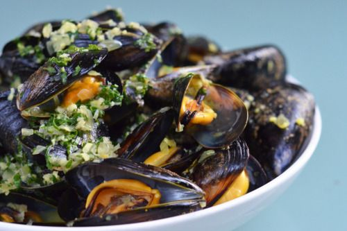 Thai Steamed Mussels. Mussels are the best meat when you're trying to ...
