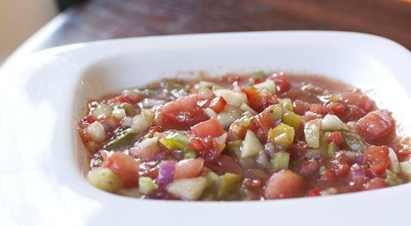 Heirloom Tomato Gazpacho | Recipe