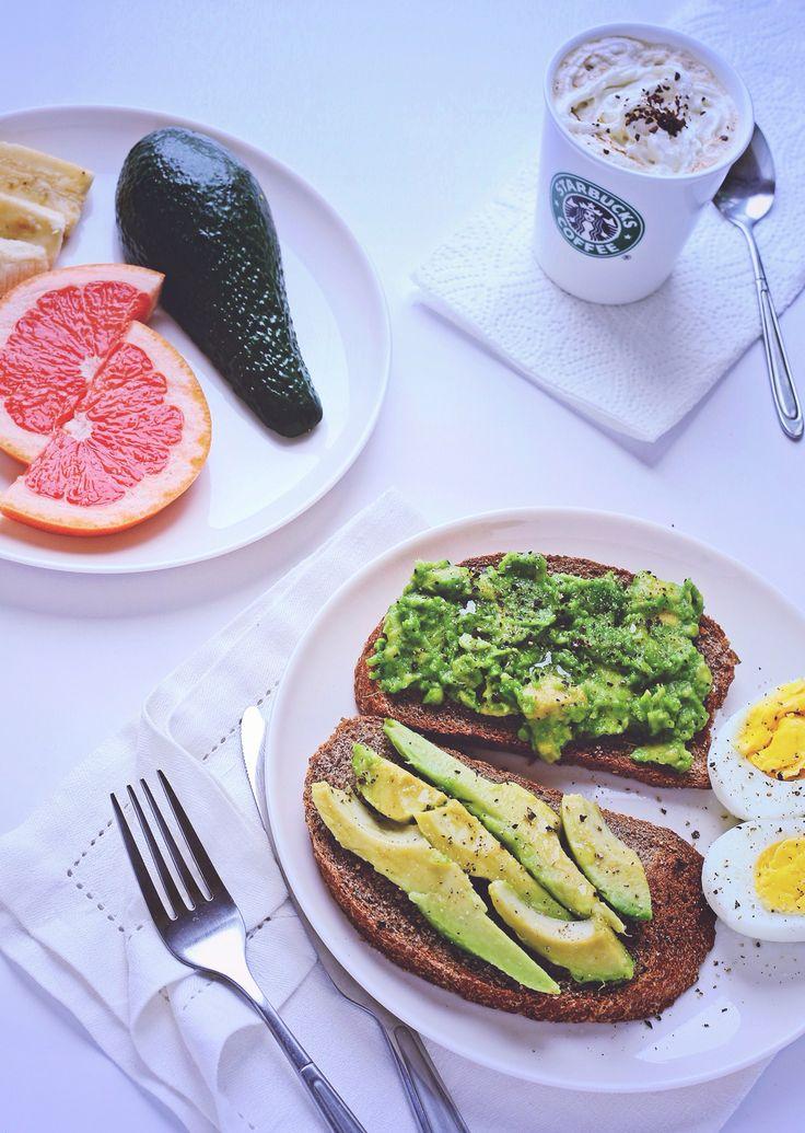 Тост с авокадо рецепты