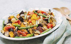 Warm Roast Vegetable Salad | Recipes | Pinterest