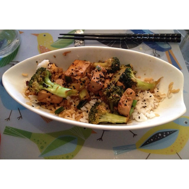 Tofu and broccoli stir fry | Incredible Edibles | Pinterest