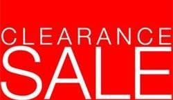 Huge Clearance Sale On