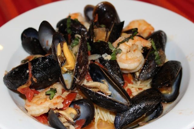 ... Love Polenta – Mussels & Shrimp with Capellini - Peace Love Polenta