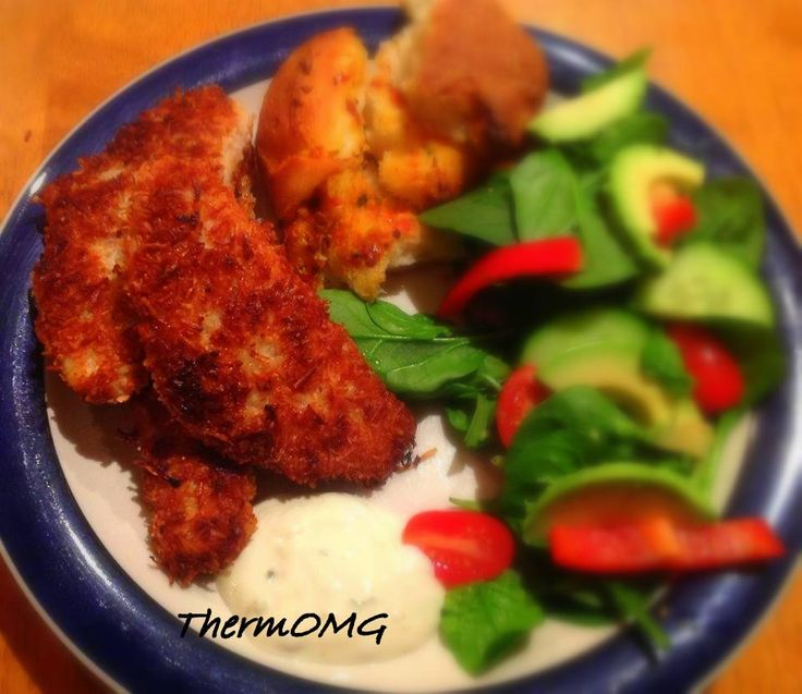Coconut Crusted Fish | Thermomix recipes | Pinterest