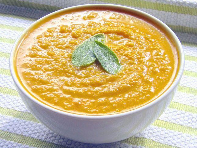 Butternut squash & apple soup | Yumm-O | Pinterest