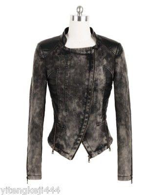 Together leather jacket