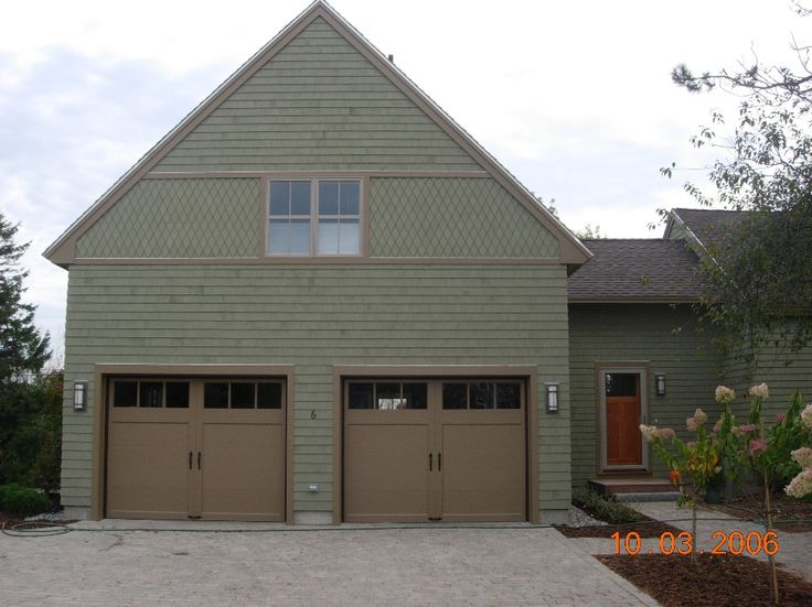 Pin by karen alquist on exteriors pinterest for Garage additions pictures