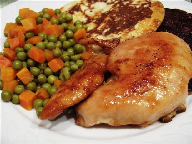 Chicken Breasts with Spicy Honey Orange Glaze | Recipe