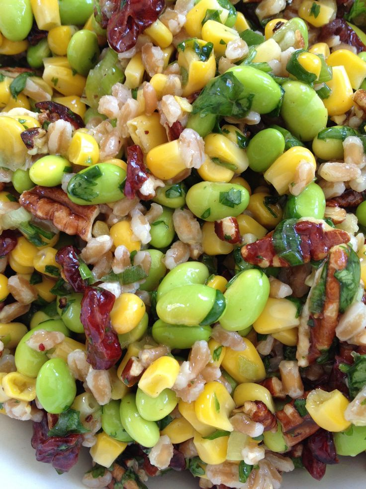 Asparagus And Zucchini Farro Salad Recipes — Dishmaps
