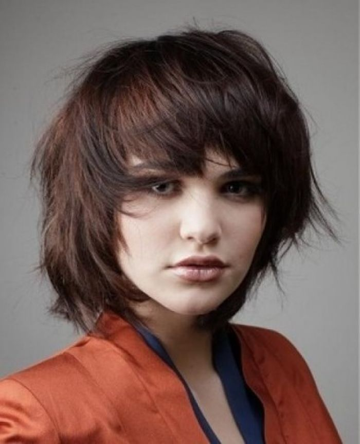 Short layered hairstyles for oval faces beauty and haircuts