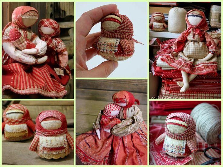 Сорока кукла мастер класс