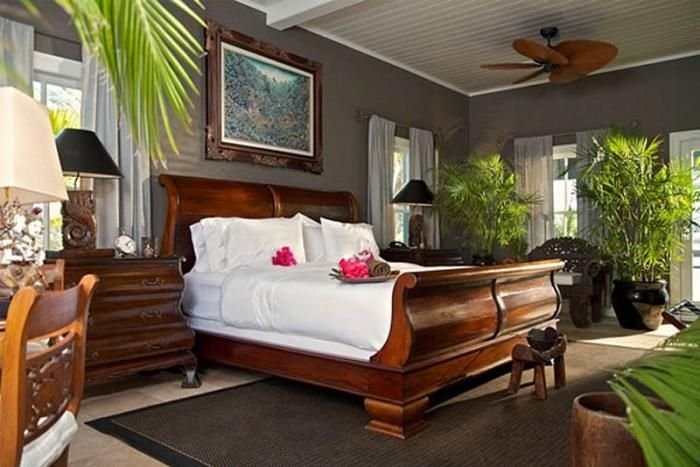 caribbean bedroom | Rooms | Pinterest
