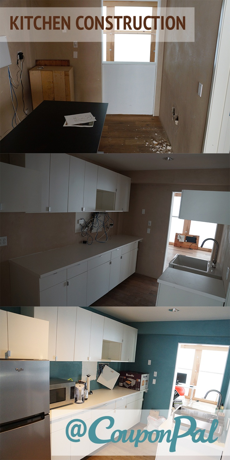 Check Out The New Kitchen New Office Construction Pinterest