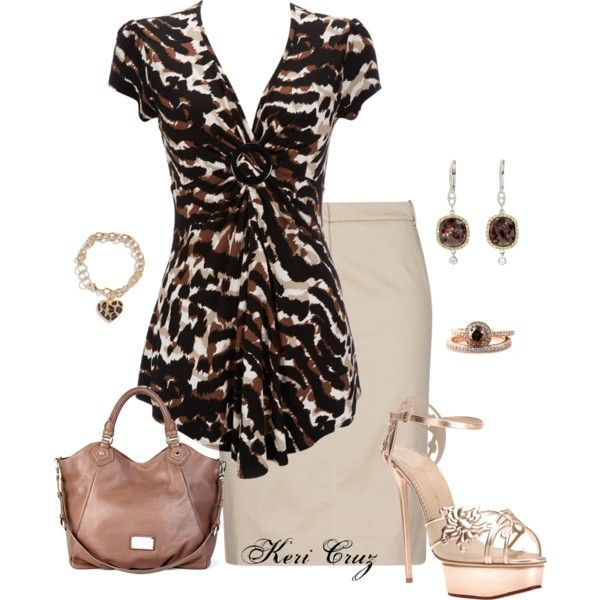 Shes an Animal! by keri-cruz on Polyvore