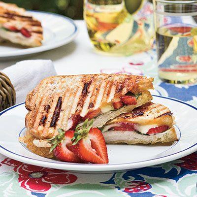 Strawberry-Turkey-Brie Panini.