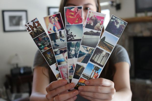 For the Insta-addict: Instagram Photo Strips - I think these would make great book marks for my nonKindle reading!