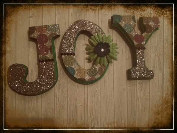 Wall Decor Joy Inspirational Home Decor Pinterest