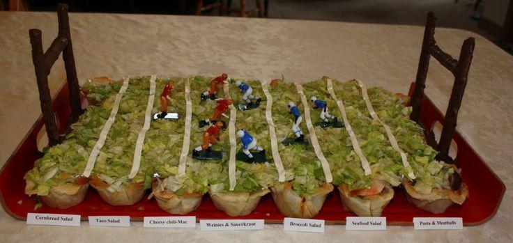 Corn Bread Salad   FOOTBALL   Pinterest