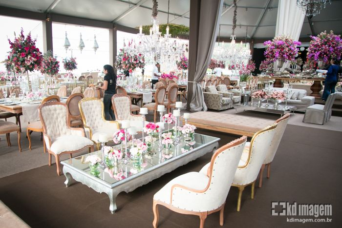 Decoração de Casamento Pink wwwpegueiobouquetcom