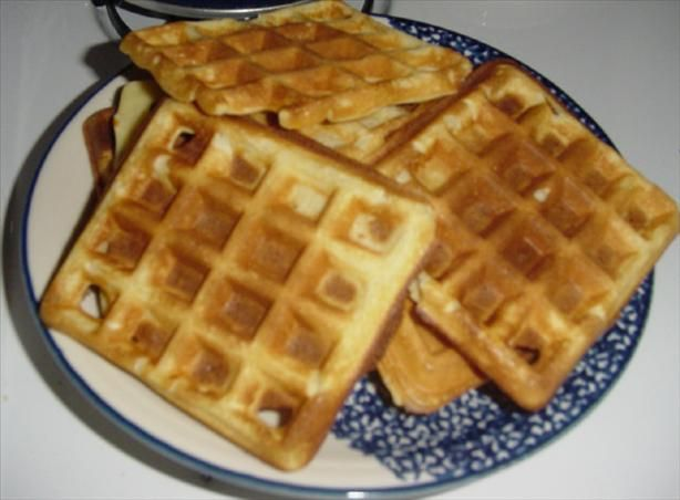 Best Ever Waffles"