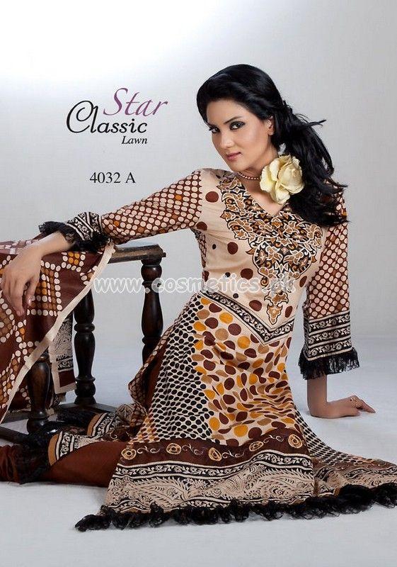 Naveed Nawaz Textiles Star Classic Lawn 2012: Volume 3
