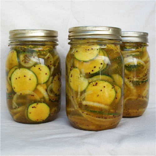 Zucchini Pickles | Canning | Pinterest