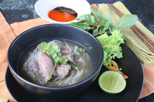 Recipe for Authentic Beef Pho Soup | yummy | Pinterest