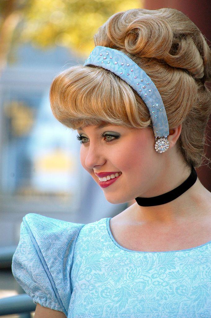 Cinderella for Sarah Costume : Hair : Pinterest