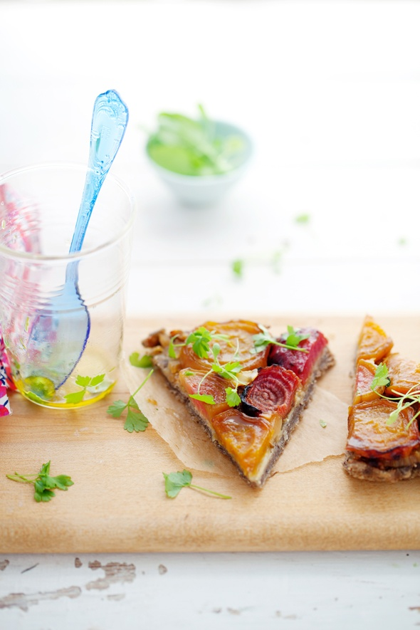 ... tarte tatin caramelised celery tarte tatin with parmesan crust