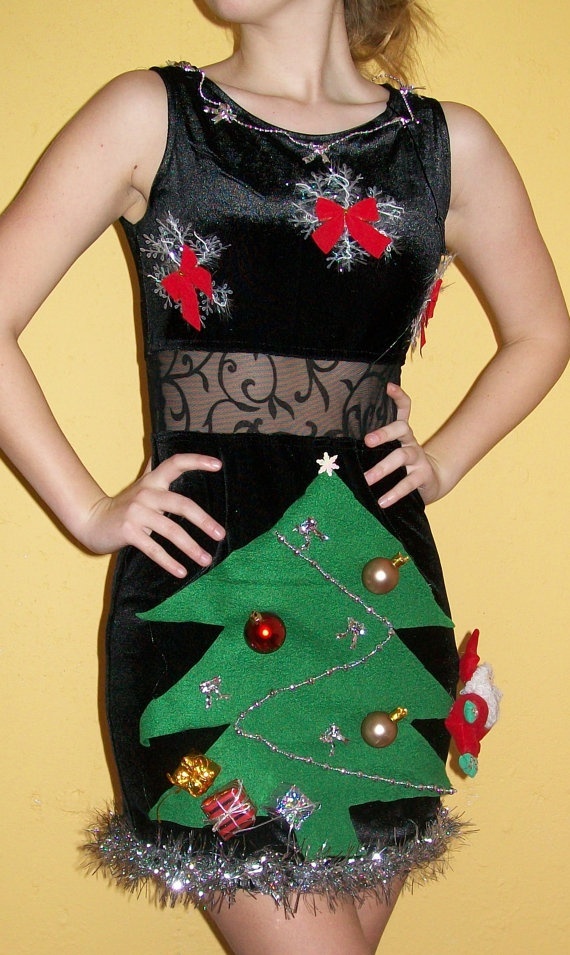 Ugly christmas sweater dresses cheap