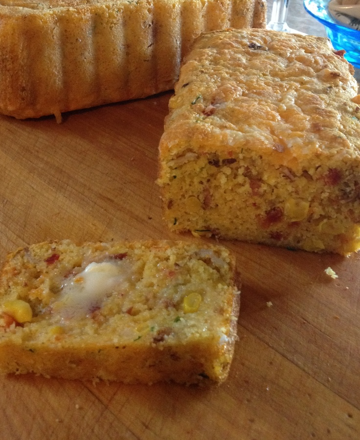 Bacon Cheddar Chipotle Cornbread | Recipes | Pinterest