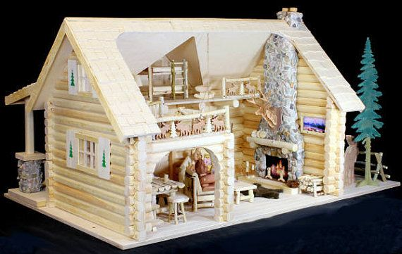 Family Lodge Log Cabin Woodworking Plans To Make Your Own Dollho