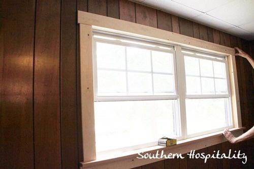 Window trim home renovation ideas pinterest for Window renovation