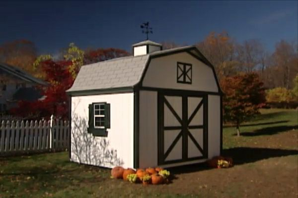 Learn how to assemble and install a garden shed kit.