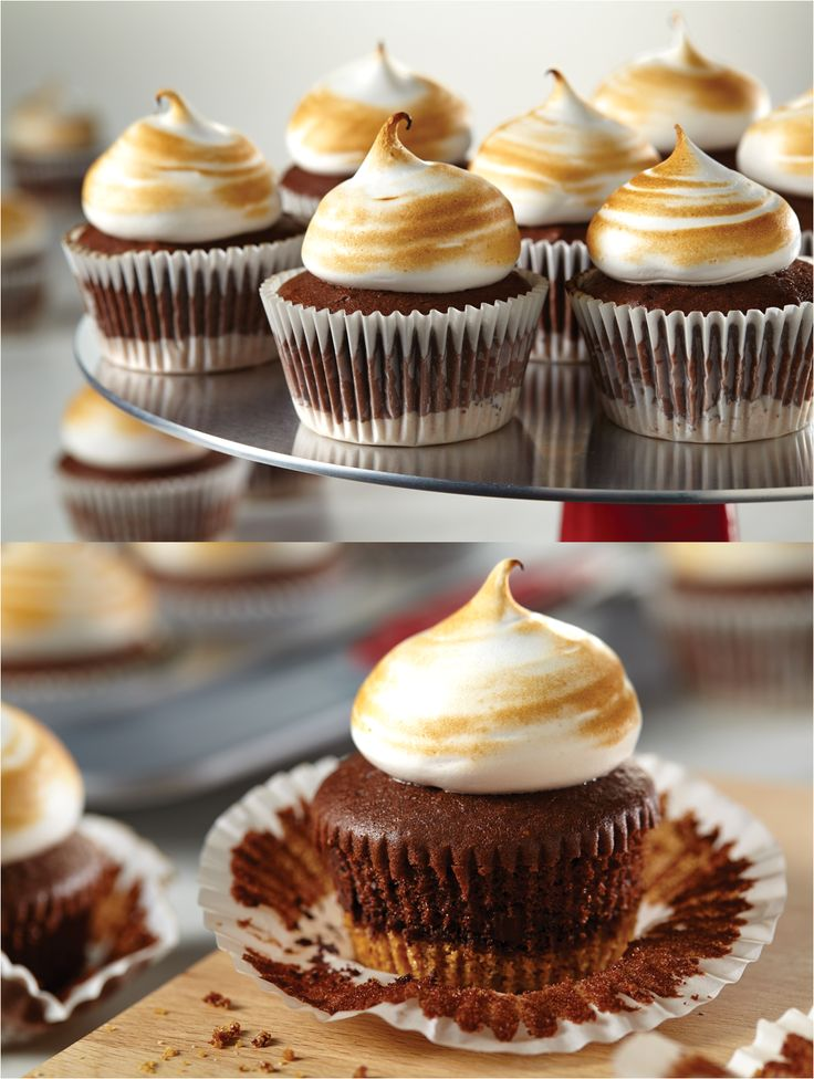 ... Toasted Marshmallow Cupcakes instead! Click on the image for the