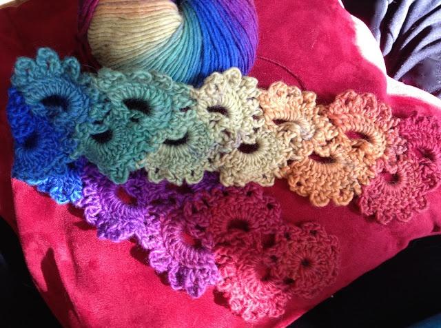 Queen Anne?s Lace Scarf free pattern Crochet Pinterest
