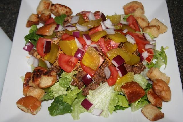 Cheeseburger Salad | Recipes | Pinterest