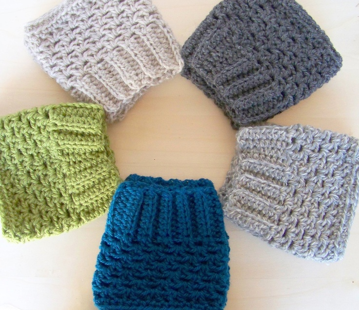 Crochet Boot Cuffs in 100% Wool - Buy 2 Get 1 1/2 OFF - Choose From 18