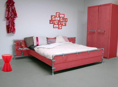 Slaapkamer rood  Interieur Inspiratie  Interieurinspiratie  Pinter ...