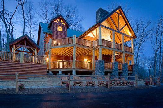 Amazing Log Cabin Dream Home Pinterest