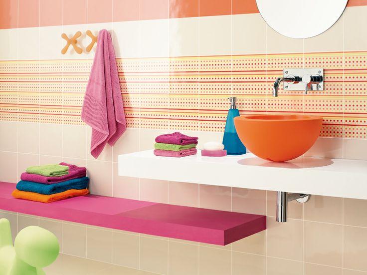Azulejos Baño Bauhaus:Pin by Saneamientos Alcalde on Bathroom for kids – Baños para niños