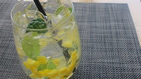"Mango Lime Coolers--You can also turn this into an ""adult"" drink ..."